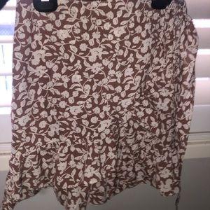 Wrap skirt size 10